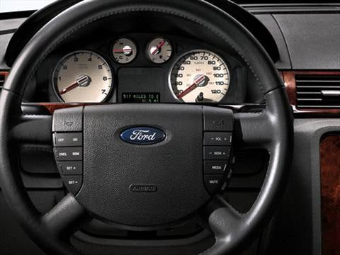 2007 ford five hundred Interior