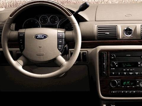 2007 ford freestar cargo Interior