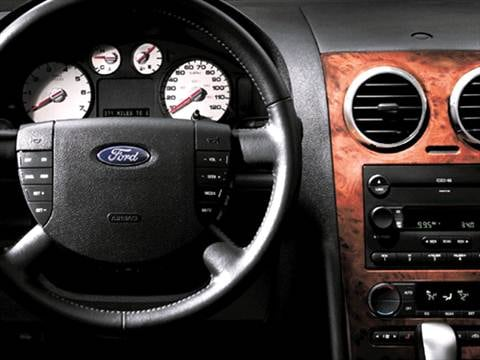 2007 ford freestyle Interior