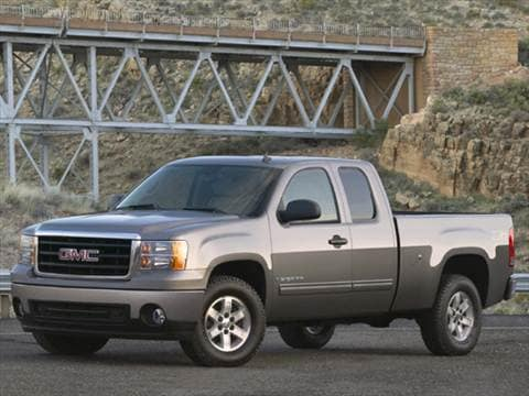 2007 gmc sierra 1500 extended cab Exterior