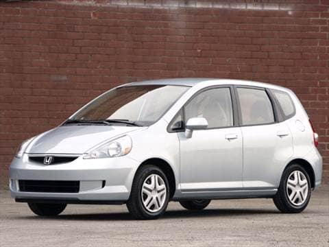 2007 Honda Fit Pricing Ratings Reviews Kelley Blue Book