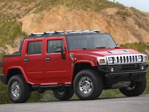 2007 HUMMER H2 SUT Sport Utility Pickup 4D  photo