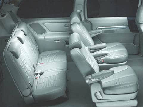 2007 hyundai entourage Interior