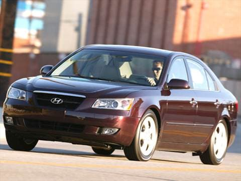 2007 Hyundai Sonata Pricing Ratings Reviews Kelley Blue Book