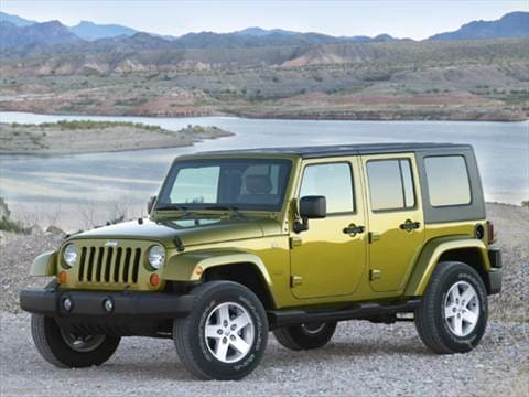 2007 Jeep Wrangler Unlimited Sahara Sport Utility 4D  photo