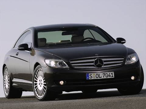 2007 Mercedes-Benz CL-Class CL 550 Coupe 2D  photo