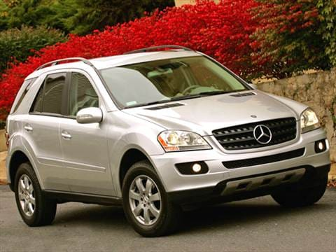 2007 mercedes benz m class pricing ratings reviews kelley blue book. Black Bedroom Furniture Sets. Home Design Ideas