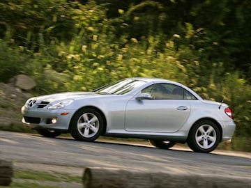 2007 Mercedes-Benz SLK-Class | Pricing, Ratings & Reviews ...