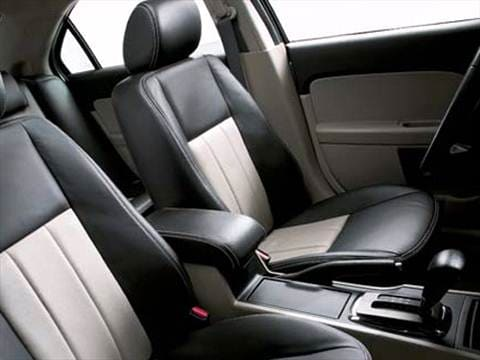 2007 mercury milan Interior