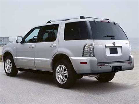 2007 mercury mountaineer pricing ratings reviews. Black Bedroom Furniture Sets. Home Design Ideas