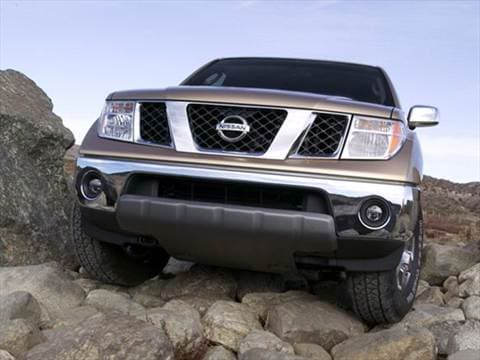 2007 nissan frontier king cab Exterior