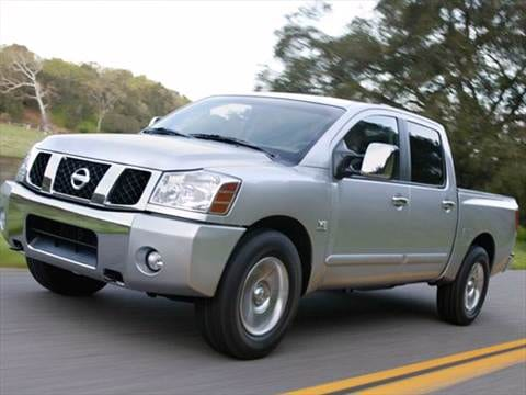 2007 nissan titan crew cab pricing ratings reviews. Black Bedroom Furniture Sets. Home Design Ideas