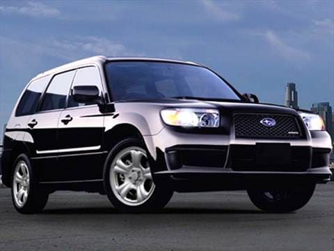 2007 Subaru Forester Pricing Ratings Reviews Kelley Blue Book