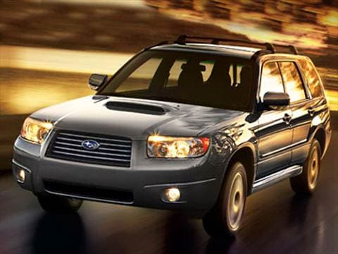 2007 Subaru Forester Sports Xt Sport Utility 4d Pictures And Videos Kelley Blue Book