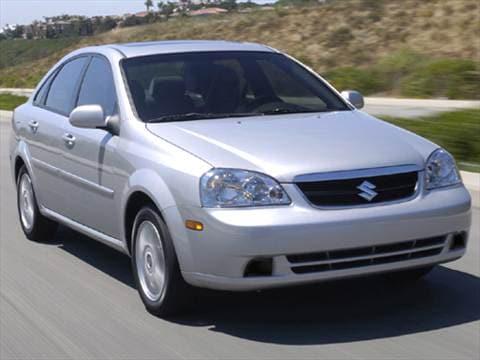 Suzuki Forenza Mpg