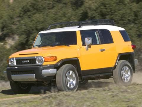 Attractive 2007 Toyota Fj Cruiser. 17 MPG Combined