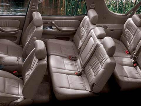 2007 toyota sequoia Interior
