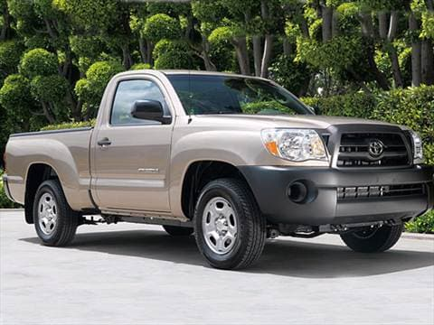 2007 Toyota Tacoma Regular Cab Pricing Ratings