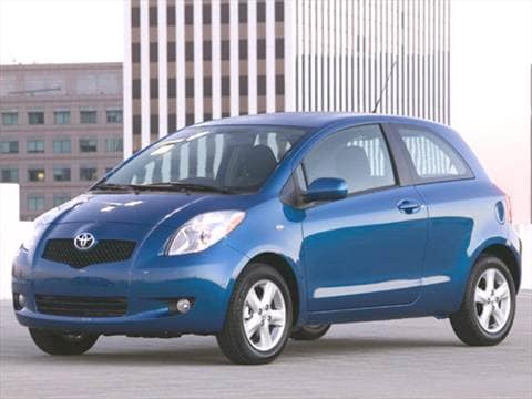 2007 toyota yaris pricing ratings reviews kelley. Black Bedroom Furniture Sets. Home Design Ideas