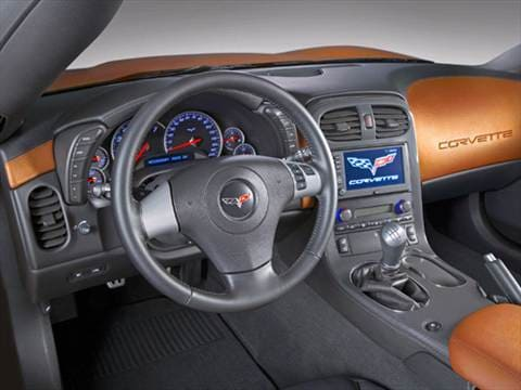 2008 chevrolet corvette Interior