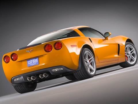 2008 Chevrolet Corvette Z06 Coupe 2D  photo