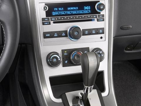 2008 chevrolet equinox Interior