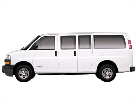 2008 Chevrolet Express 2500 Passenger LS Van 3D  photo