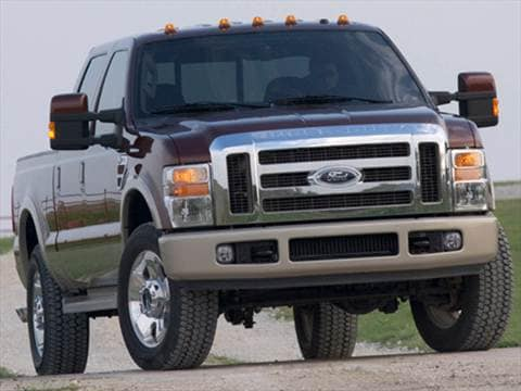 2008 Ford F250 Super Duty Crew Cab XL Pickup 4D 6 3/4 ft  photo