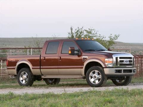 2008 Ford F250 Super Duty Crew Cab | Pricing, Ratings ...