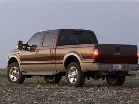 2008 ford f350 super duty crew cab Exterior