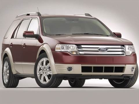 2008 ford taurus x pricing ratings reviews kelley. Black Bedroom Furniture Sets. Home Design Ideas