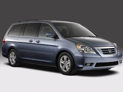2008 Honda Odyssey Pricing Ratings Reviews Kelley Blue Book