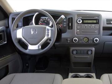 2008 Honda Ridgeline Exterior Interior
