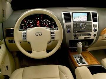 2008 Infiniti Qx Interior