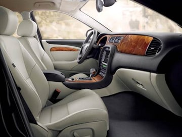 2008 jaguar s type Interior