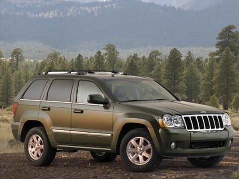 Attractive 2008 Jeep Grand Cherokee. 17 MPG Combined