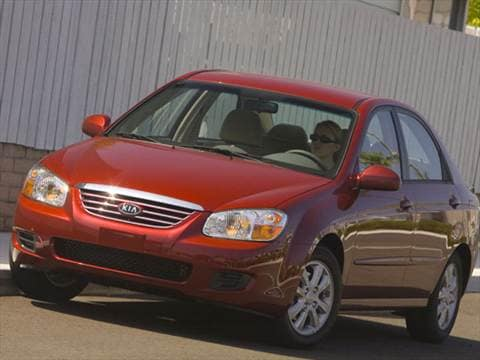 2008 Kia Spectra Pricing Ratings Reviews Kelley Blue Book