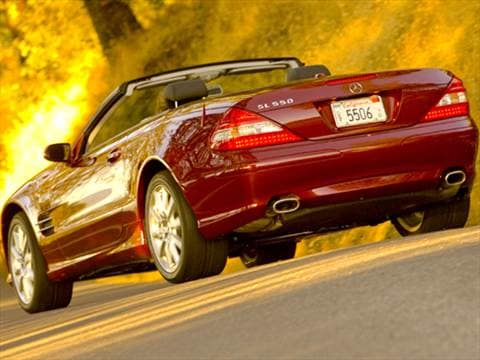 2008 Mercedes-Benz SL-Class SL550 Roadster 2D  photo