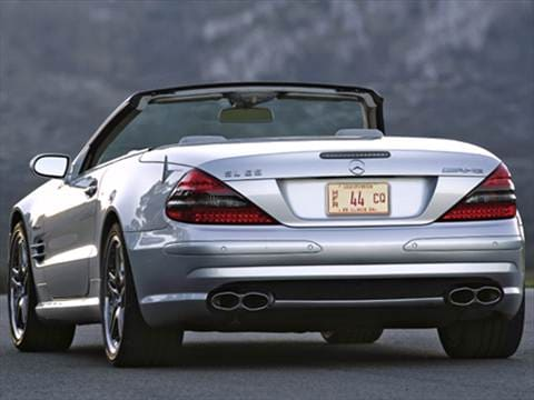 2008 Mercedes-Benz SL-Class SL65 AMG Roadster 2D  photo