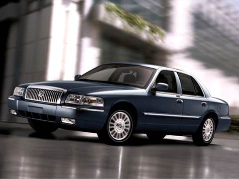 2008 Mercury Grand Marquis GS Sedan 4D  photo