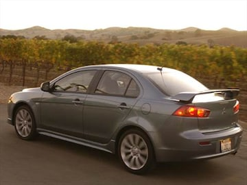 2008 mitsubishi lancer pricing ratings reviews. Black Bedroom Furniture Sets. Home Design Ideas