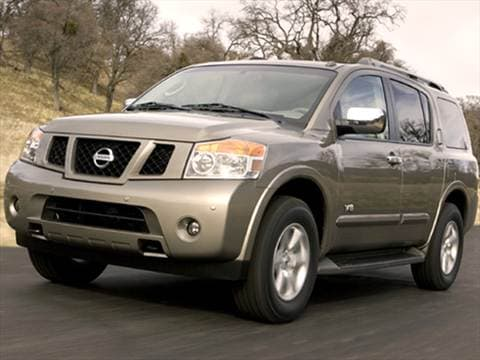 2008 Nissan Armada Pricing Ratings Amp Reviews Kelley Blue Book