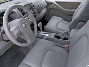2008 Nissan Frontier Crew Cab Interior