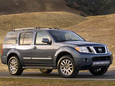 Attractive 2008 Nissan Pathfinder. 16 MPG Combined