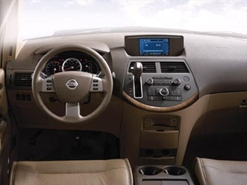 2008 nissan quest Interior