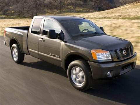 Good 2008 Nissan Titan King Cab