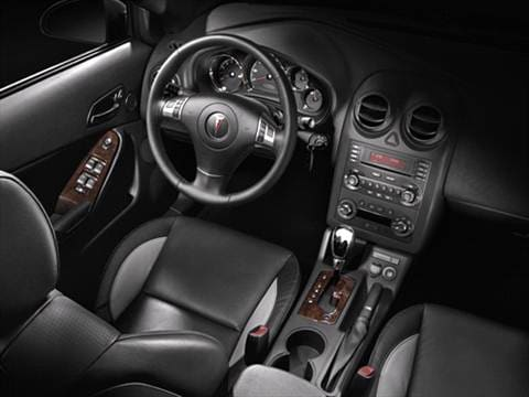 2008 pontiac grand prix Interior