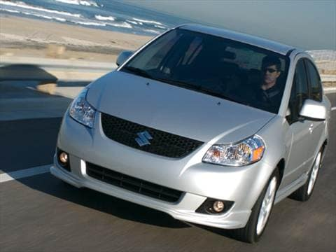 2008 Suzuki SX4 Sedan 4D  photo