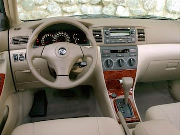 2008 toyota corolla pricing ratings reviews kelley blue book for Toyota corolla 2003 interior