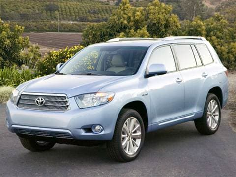 2008 Toyota Highlander. 26 MPG Combined